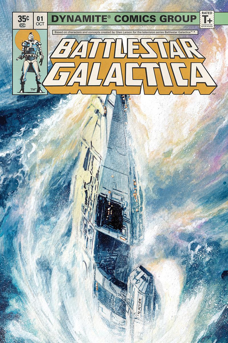 Battlestar Galactica Classic #0 Cover C Incentive Marco Rudy Sneak Peek Variant Cover