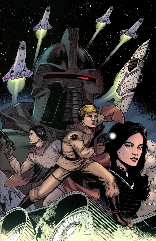 Battlestar Galactica Classic #0 Cover E Incentive Sean Chen Virgin Cover