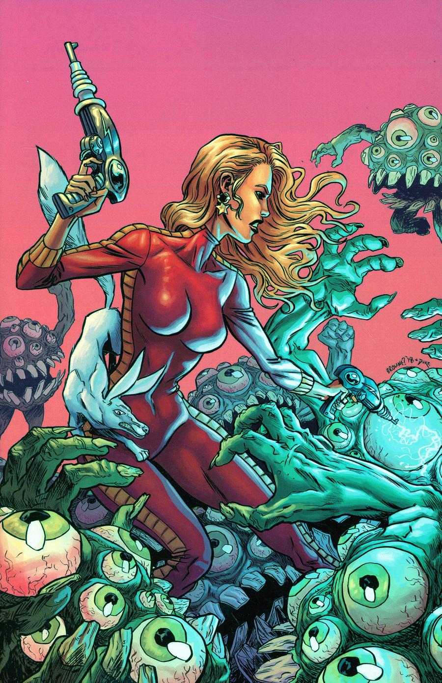 Barbarella #11 Cover H Incentive Ryan Browne Virgin Cover