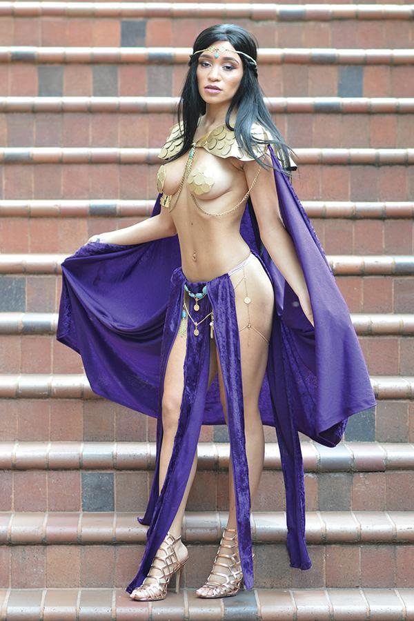 Vampirella Dejah Thoris #2 Cover K Incentive Dejah Thoris Cosplay Photo Virgin Cover