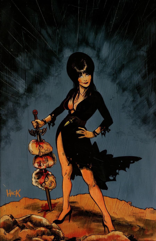 Elvira Mistress Of The Dark Vol 2 #4 Cover H Incentive Robert Hack Virgin Cover