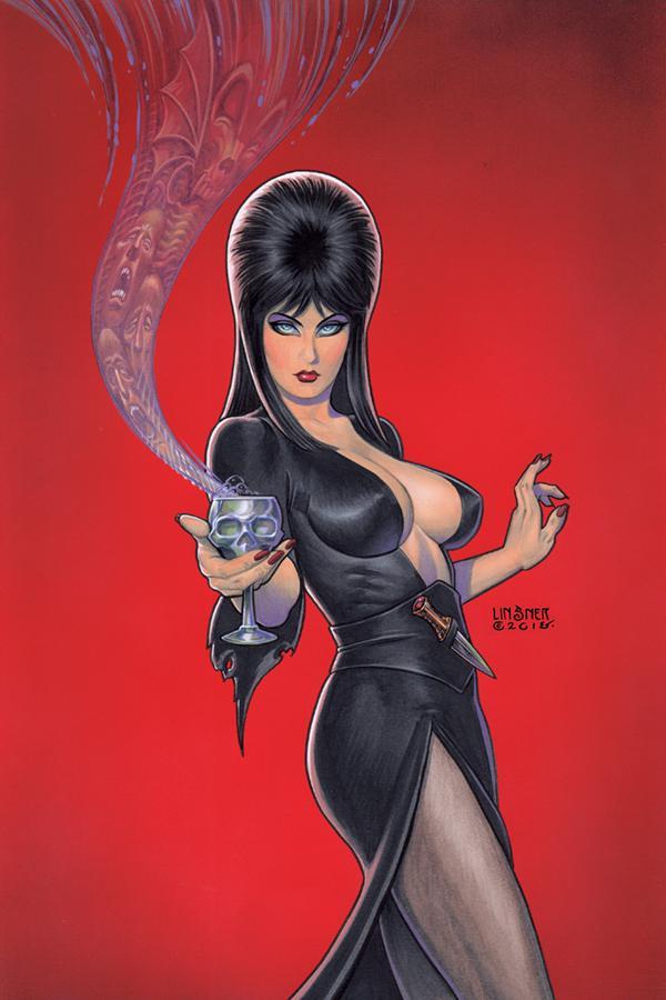 Elvira Mistress Of The Dark Vol 2 #4 Cover I Incentive Joseph Michael Linsner Virgin Cover