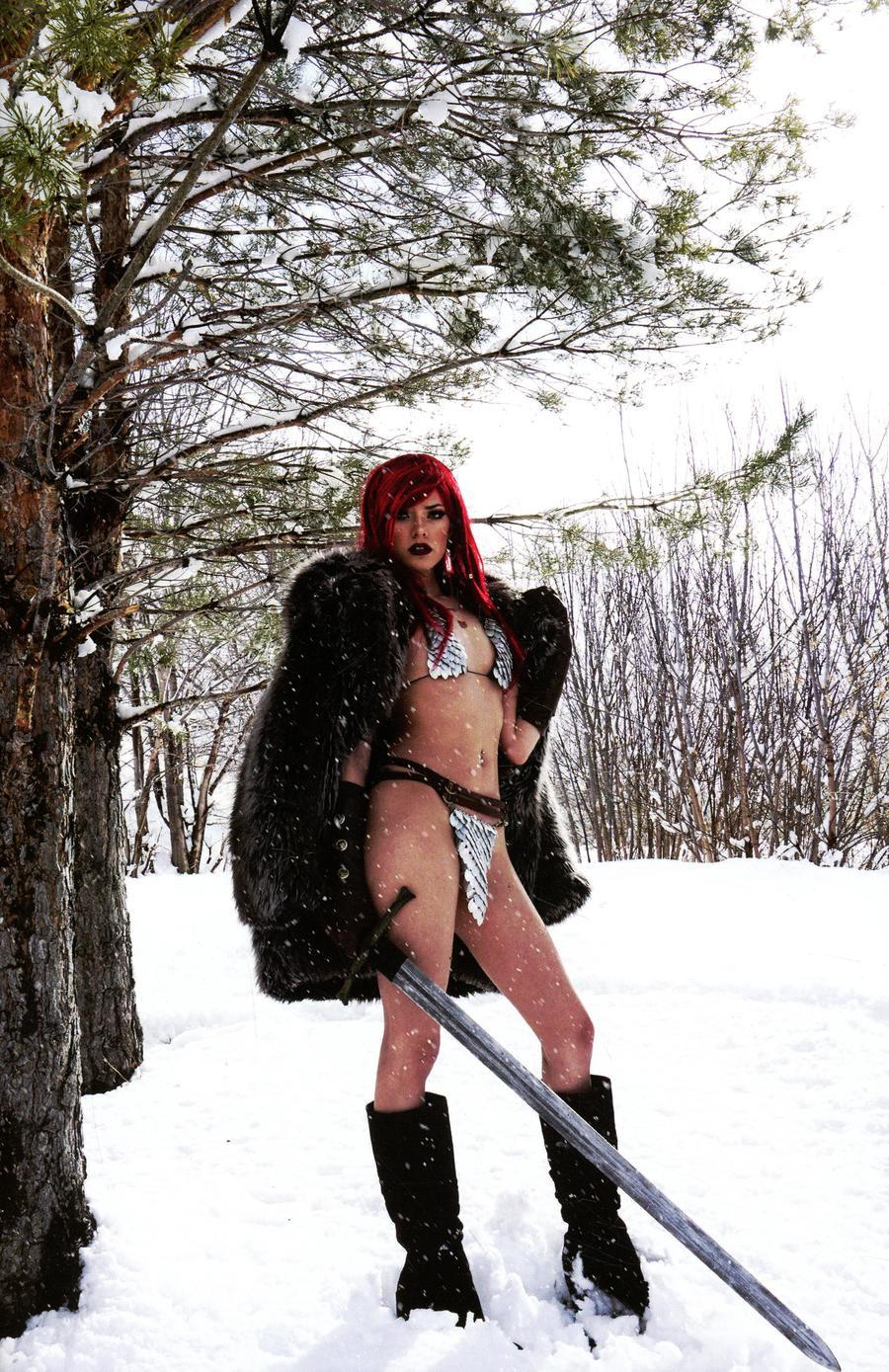Red Sonja Vol 7 #22 Cover I Incentive Cosplay Photo Subscription Virgin Cover