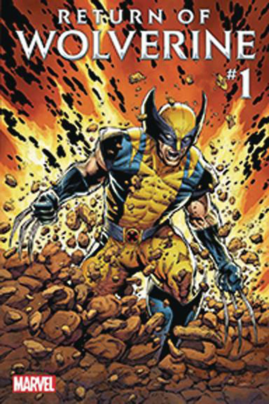 Return Of Wolverine #1 Cover Z DF Signed By Charles Soule