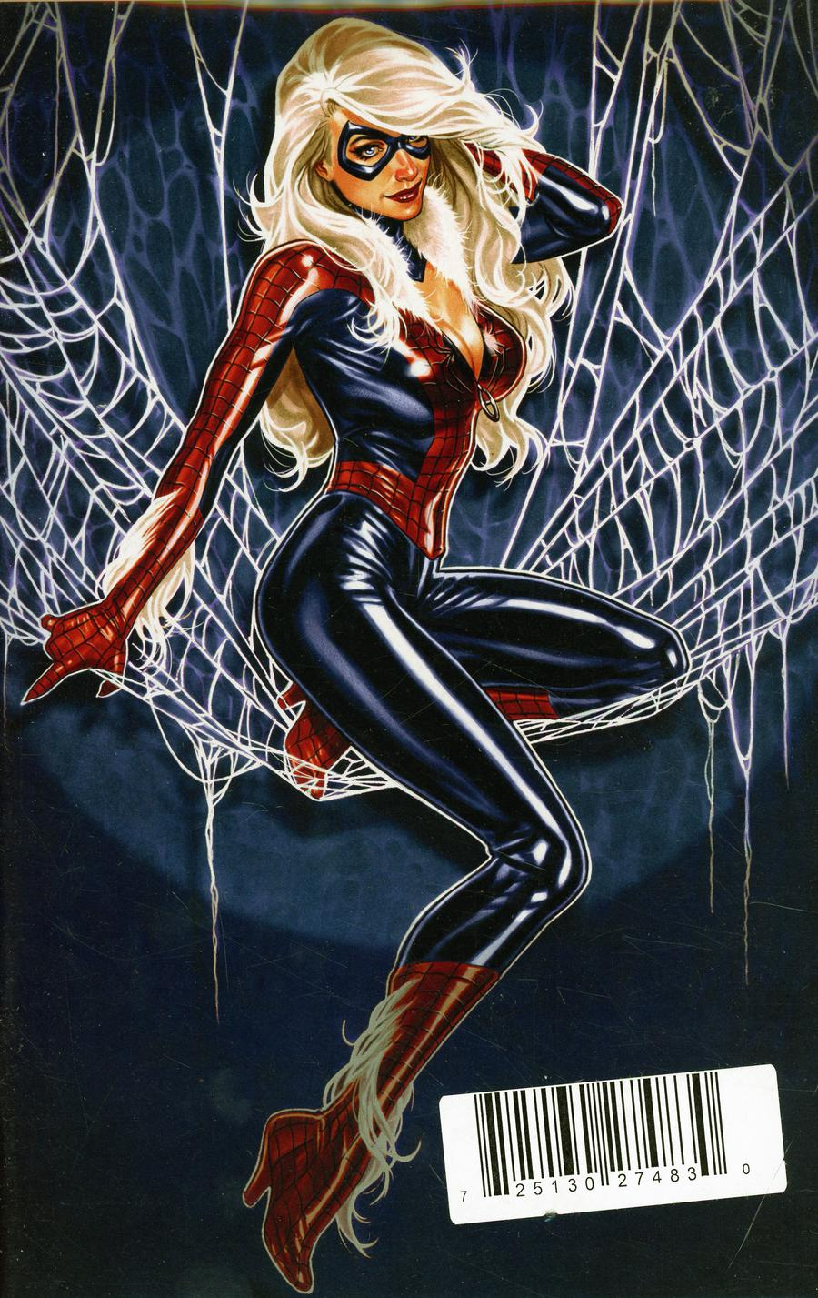 Amazing Spider-Man Vol 5 #1 Cover Z-G DF ComicSketch Art Exclusive Mark Brooks Black Cat Spidey Suit Virgin Variant Cover