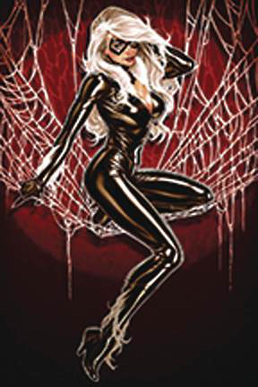 Amazing Spider-Man Vol 5 #1 Cover Z-H DF ComicSketch Art Exclusive Mark Brooks Black Cat Virgin Variant Cover