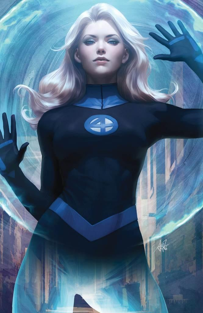 Fantastic Four Vol 6 #1 Cover Z-H DF Comicxsposure Exclusive Stanley Artgerm Lau Sue Storm Virgin Cover