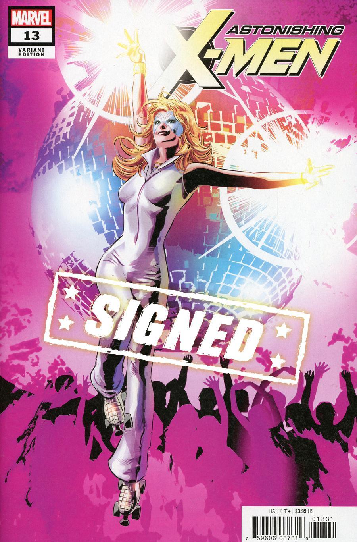 Astonishing X-Men Vol 4 #13 Cover E Variant Mike Deodato Jr Cover Signed By Matthew Rosenberg