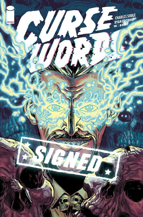 Curse Words #16 Cover F Regular Ryan Browne Cover Signed By Charles Soule