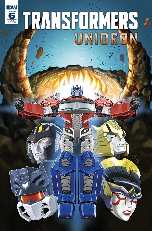 Transformers Unicron #6 Cover C Incentive EJ Su Variant Cover