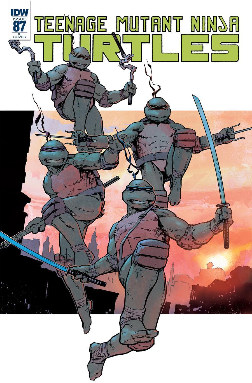 Teenage Mutant Ninja Turtles Vol 5 #87 Cover C Incentive Michael Dowling Variant Cover