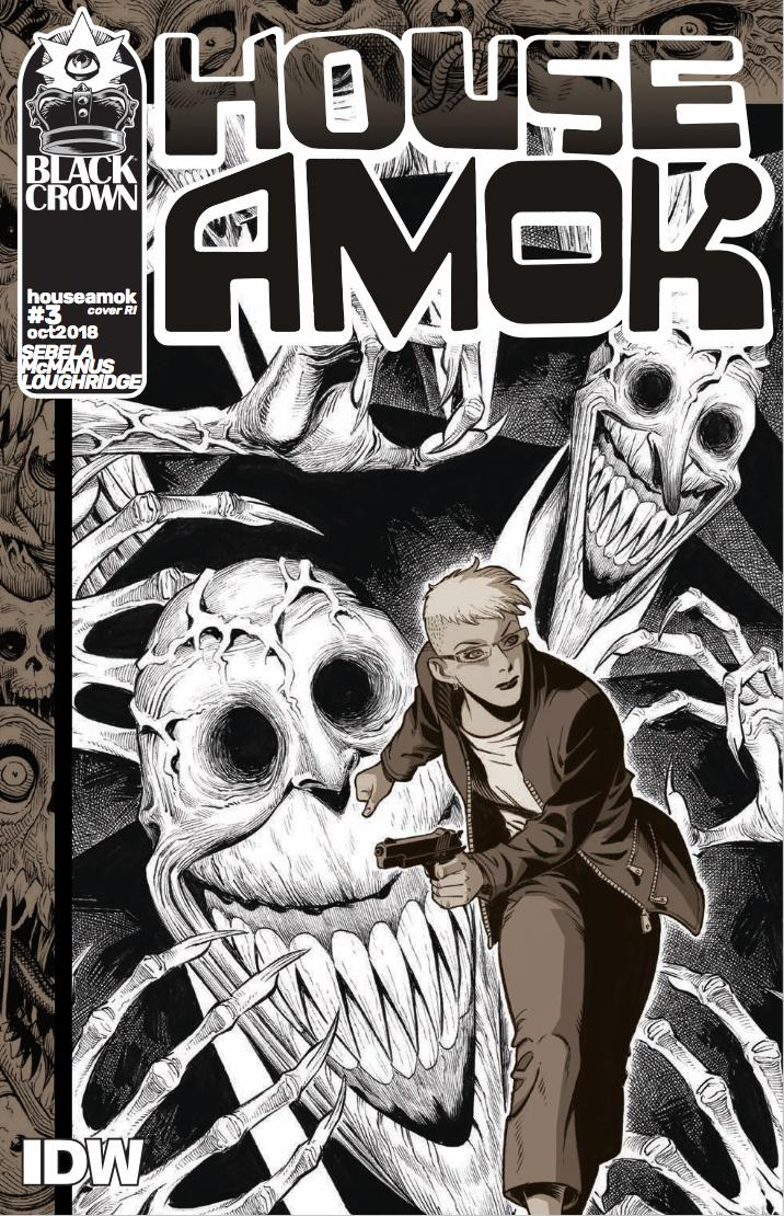 House Amok #3 Cover C Incentive Shawn McManus Variant Cover