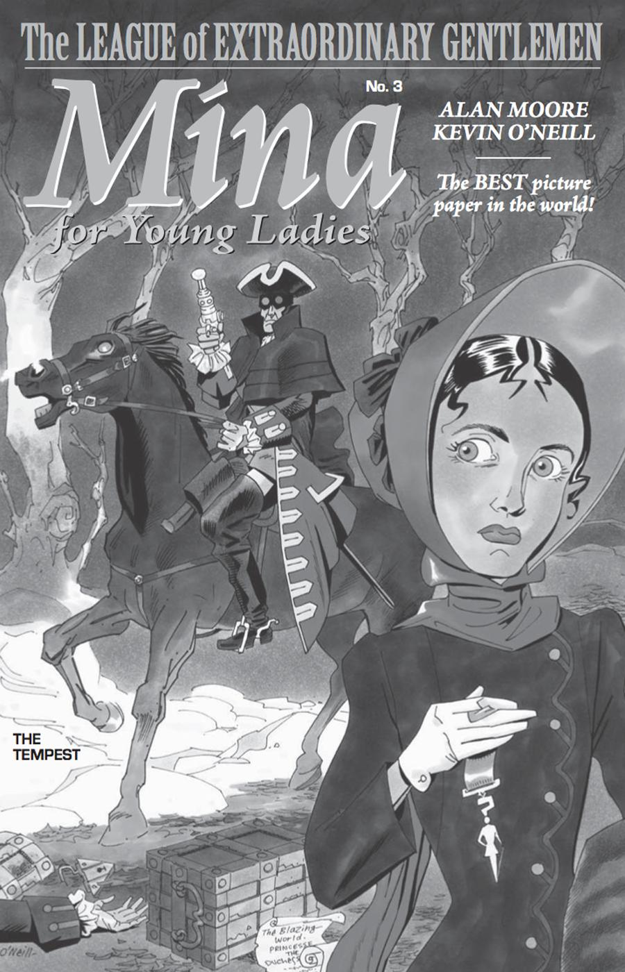 League Of Extraordinary Gentlemen Tempest #3 Cover B Incentive Kevin ONeill Sketch Cover