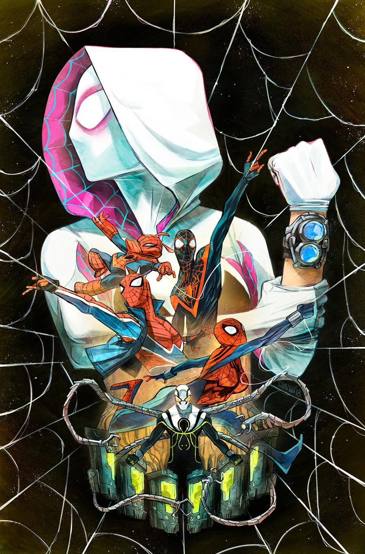 Spider-Geddon #2 Cover C Incentive Ivan Shavrin Variant Cover (Spider-Geddon Tie-In)