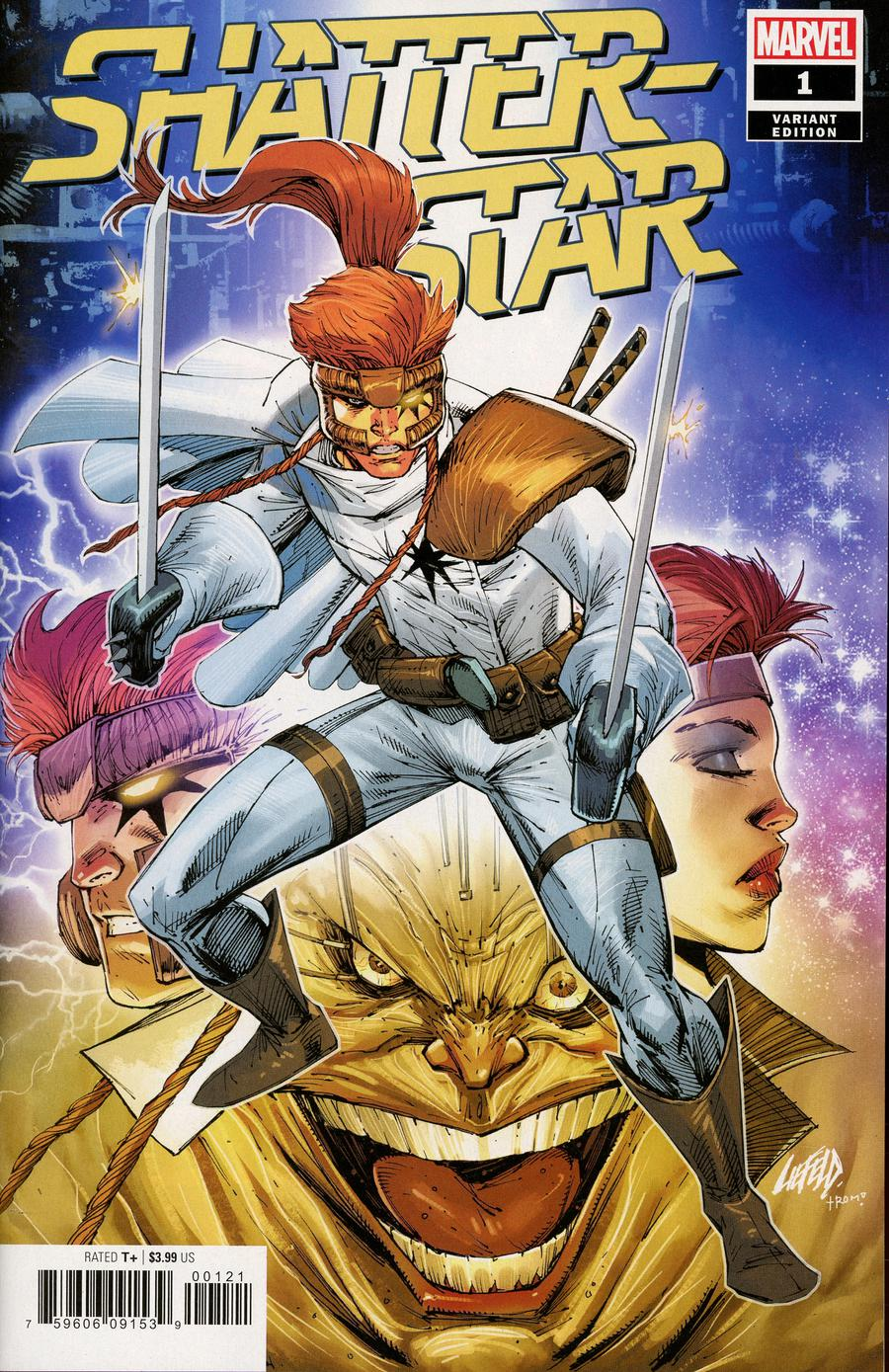 Shatterstar #1 Cover D Incentive Rob Liefeld Variant Cover