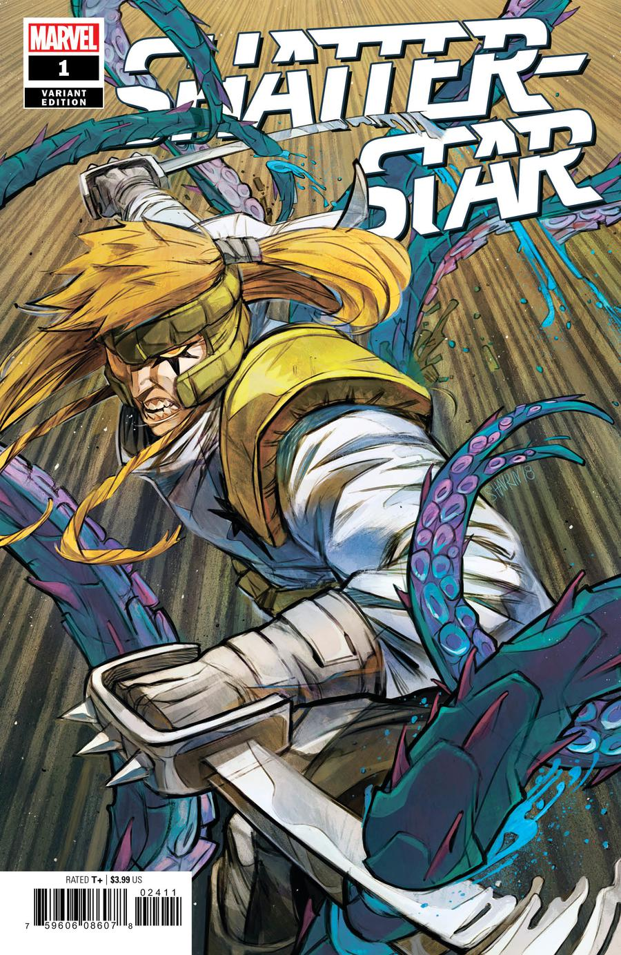 Shatterstar #1 Cover C Incentive Ivan Shavrin Variant Cover