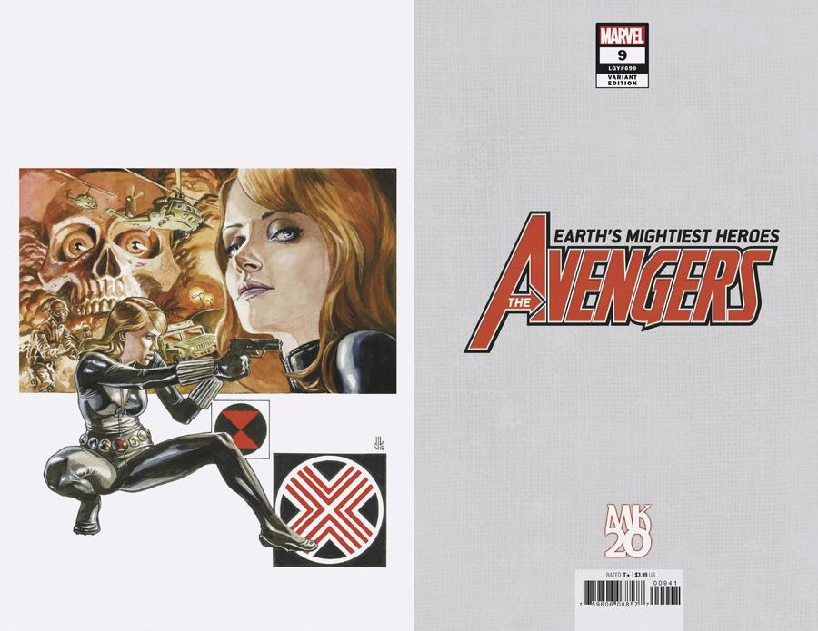 Avengers Vol 7 #9 Cover D Incentive JG Jones MKXX Virgin Cover