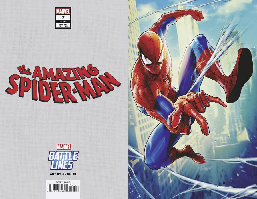 Amazing Spider-Man Vol 5 #7 Cover D Incentive Terry Dodson MKXX Virgin Cover
