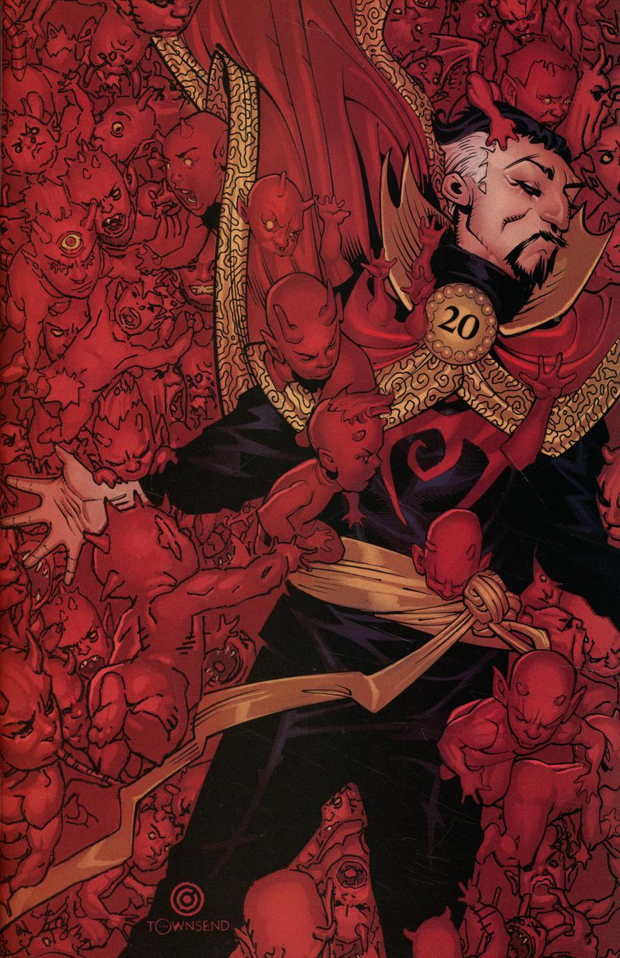 Doctor Strange Vol 5 #6 Cover D Incentive Chris Bachalo MKXX Virgin Cover