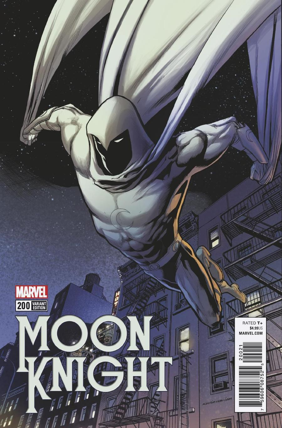Moon Knight Vol 8 #200 Cover D Incentive Kevin Nowlan Variant Cover