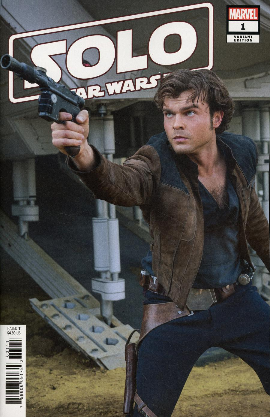 Solo A Star Wars Story Movie Adaptation #1 Marvel Comics 2018