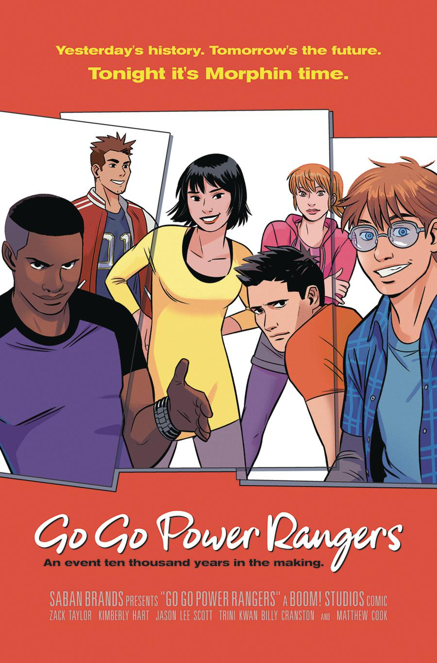 Sabans Go Go Power Rangers #13 Cover D Incentive Natacha Bustos Virgin Variant Cover (Shattered Grid Epilogue)