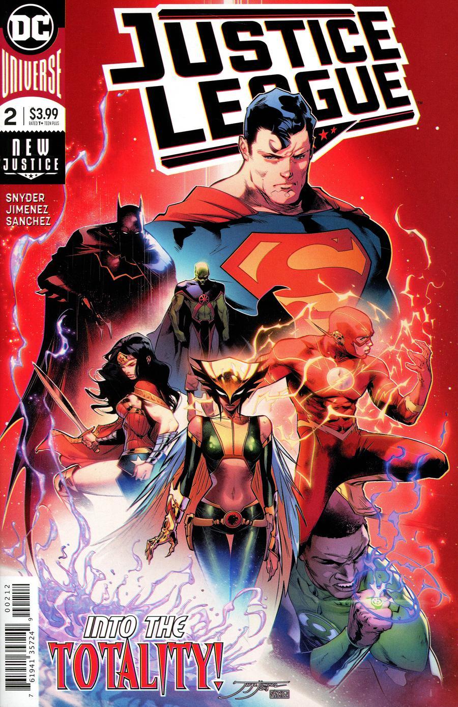 Justice League Vol 4 #2 Cover D 2nd Ptg Variant Jorge Jimenez Cover
