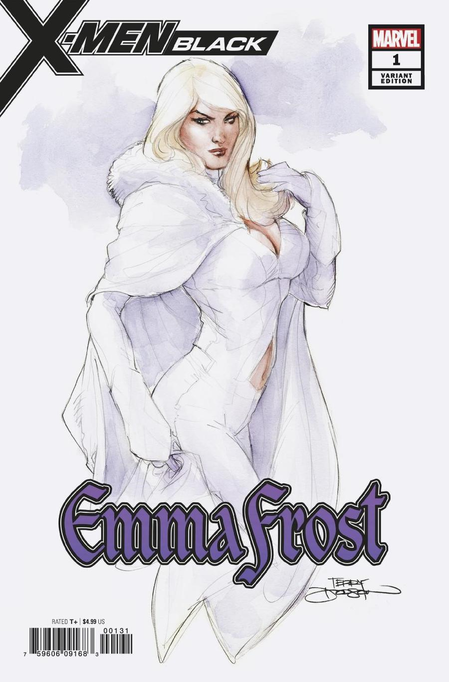 X-Men Black Emma Frost #1 Cover C Variant Terry Dodson Cover