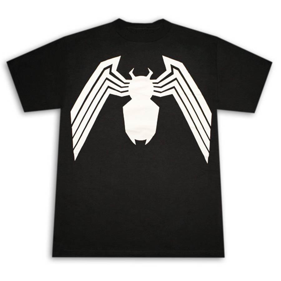 Venom Suit Fitted Jersey Black Mens T-Shirt Large