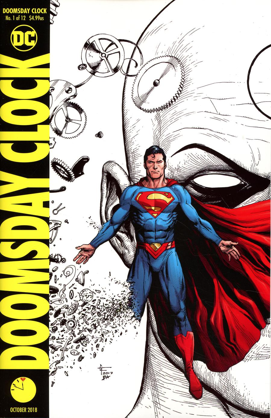 Doomsday Clock #1 Cover J 4th Ptg Variant Gary Frank Cover
