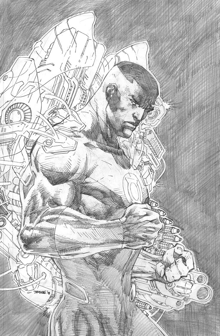 Justice League Vol 4 #6 Cover C Incentive Jim Lee Pencils Cover