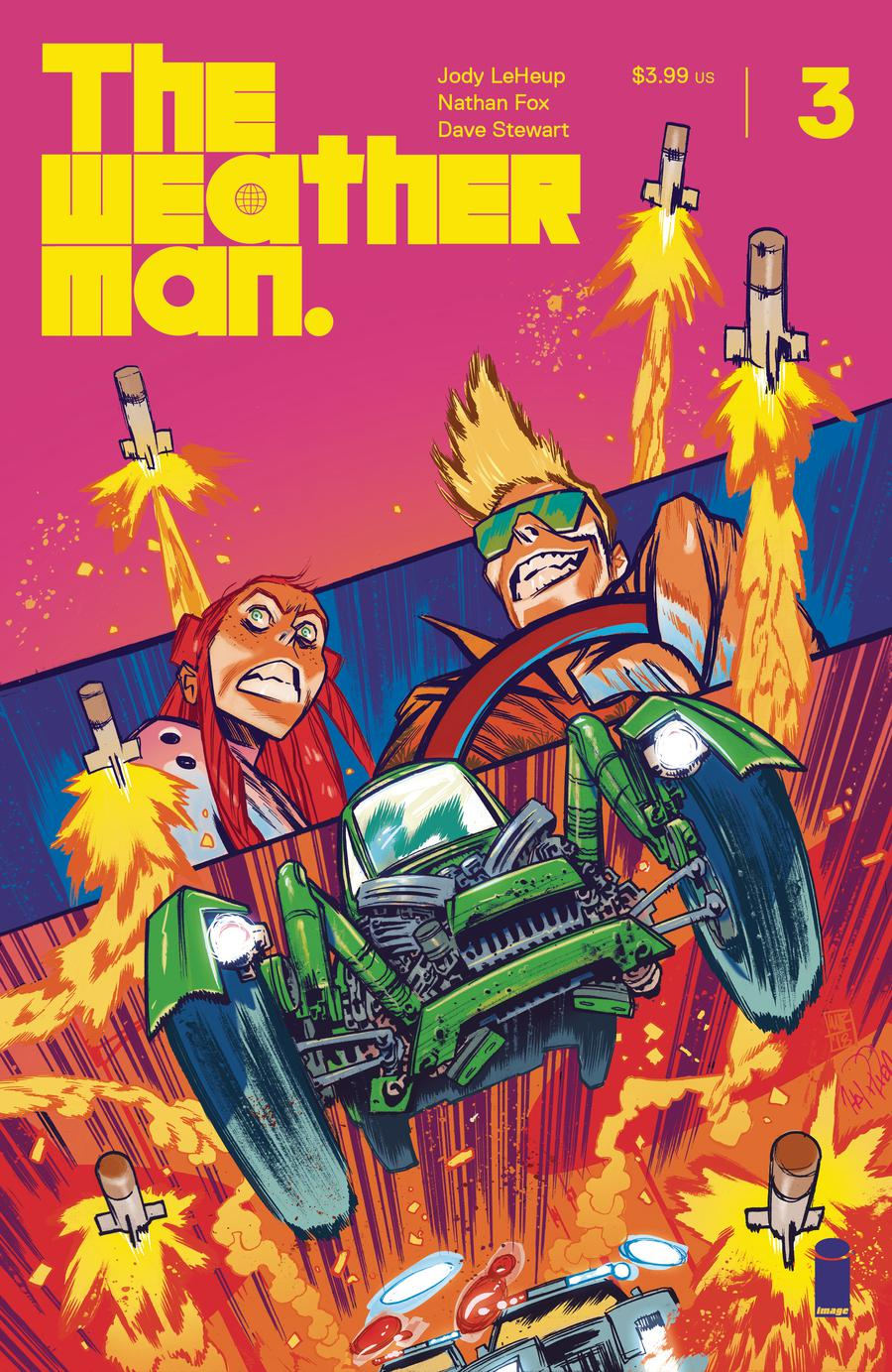 Weatherman #3 Cover C Incentive James Harren Variant Cover