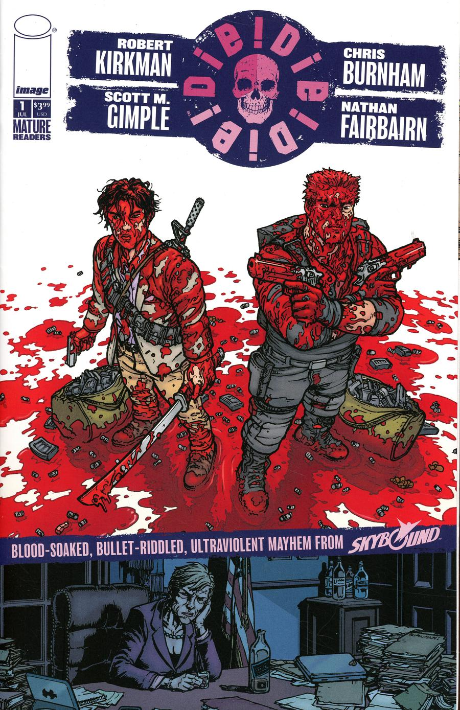 Die Die Die #1 Cover A Chris Burnham & Nathan Fairbairn No Dialogue Cover
