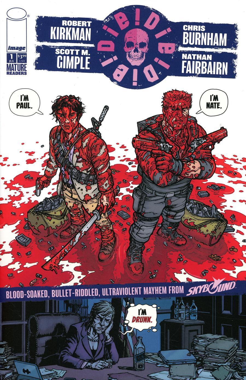 Die Die Die #1 Cover G Chris Burnham & Nathan Fairbairn Paul & Nate Cover