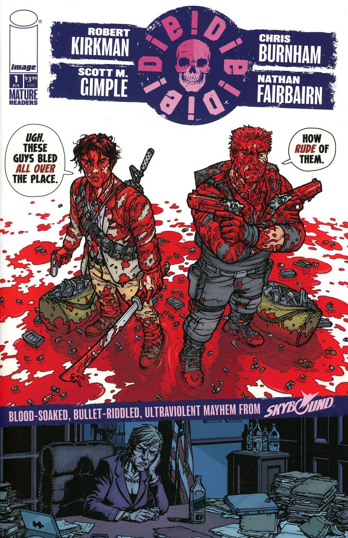 Die Die Die #1 Cover H Chris Burnham & Nathan Fairbairn Rude Cover