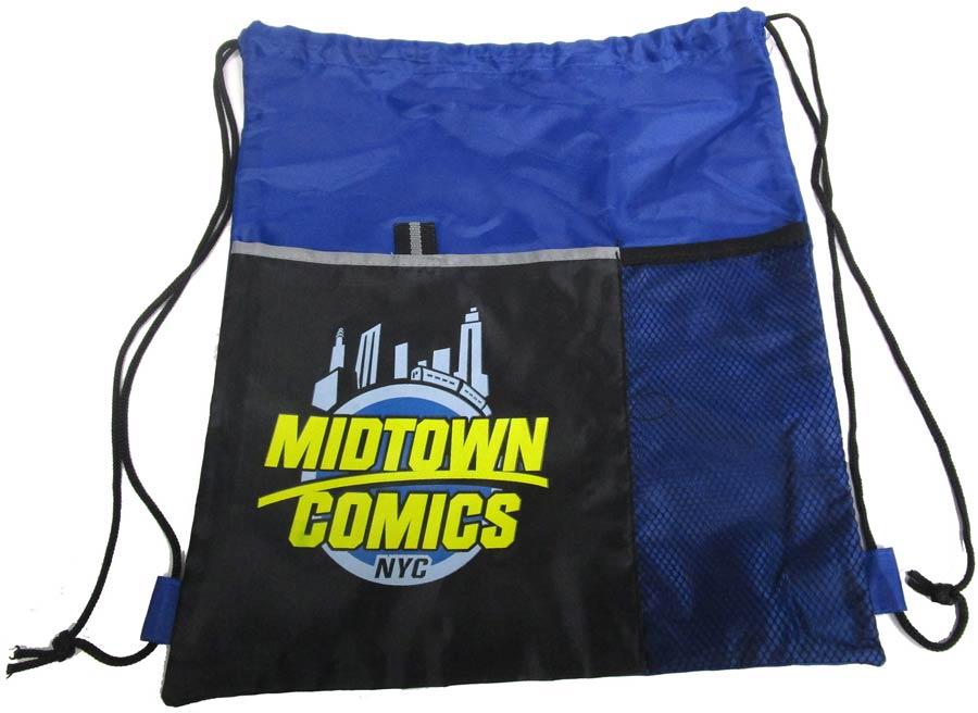 Midtown Comics Dual Pocket Sportpack Cinch Bag