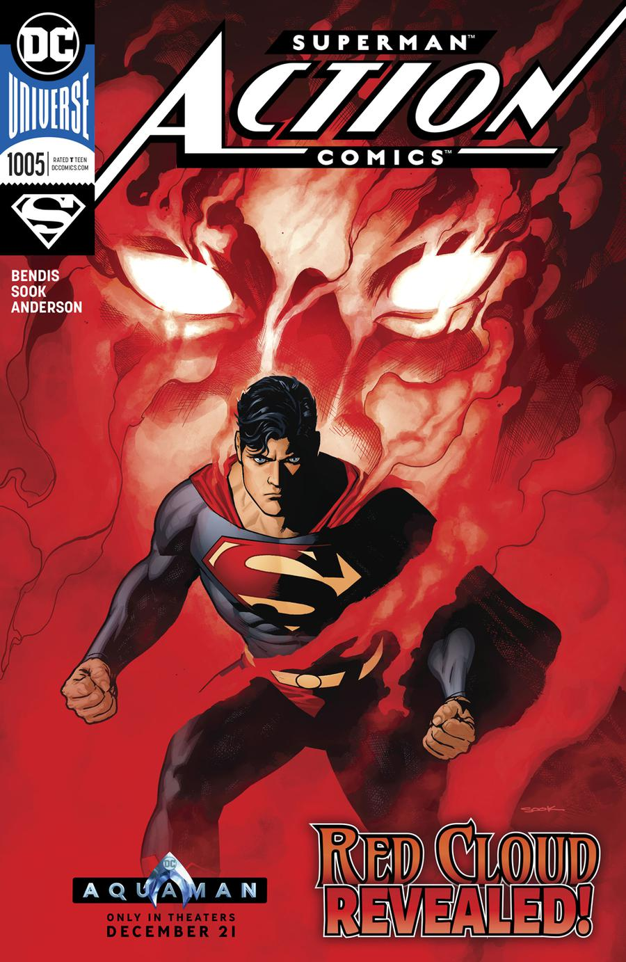 Action Comics Vol 2 #1005 Cover A Regular Ryan Sook Cover