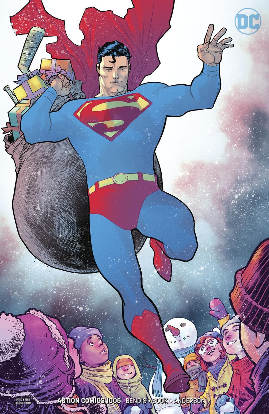 Action Comics Vol 2 #1005 Cover B Variant Francis Manapul Cover