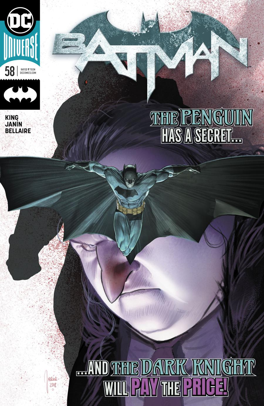 Batman Vol 3 #58 Cover A Regular Mikel Janin Cover