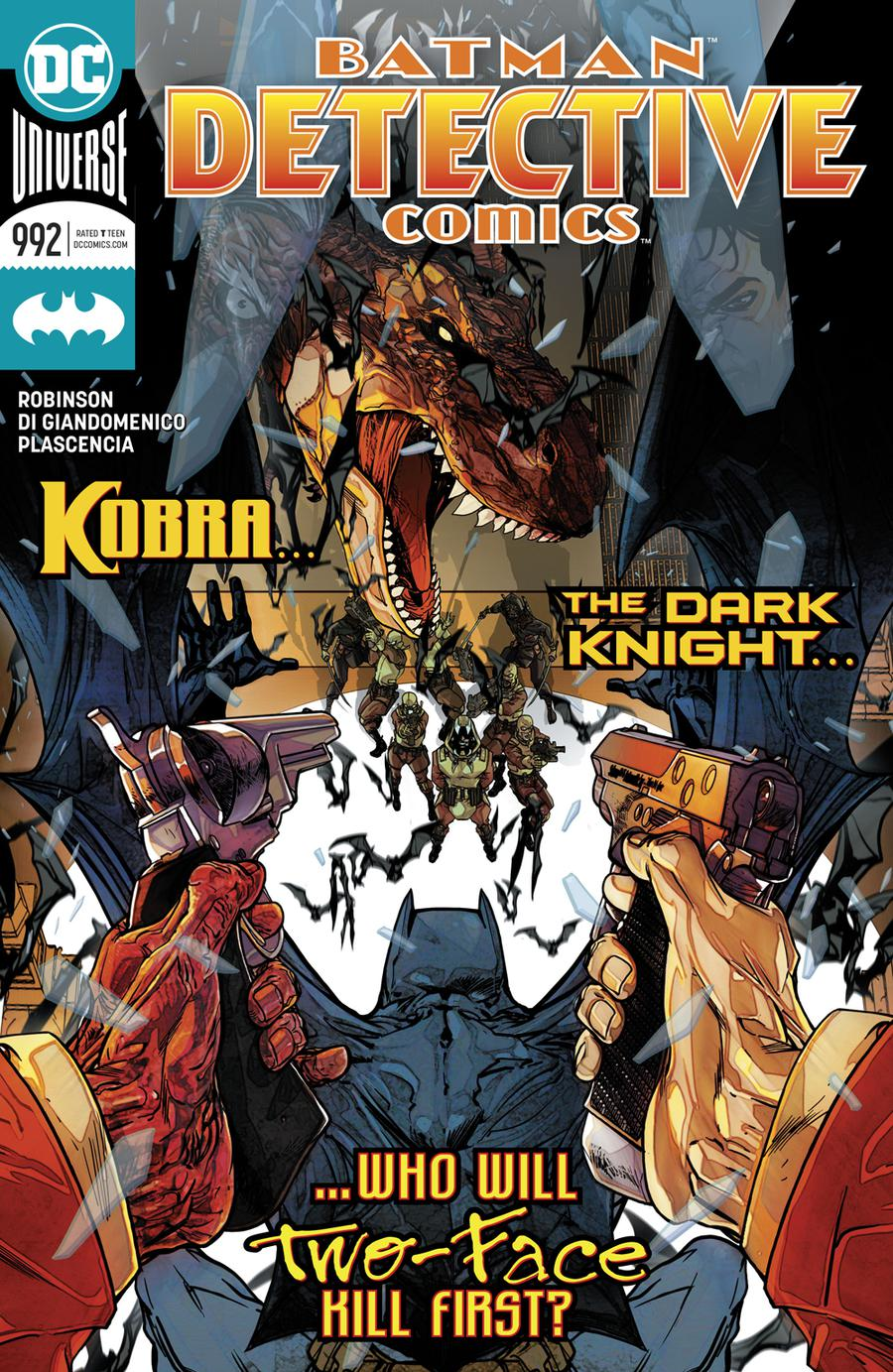 Detective Comics Vol 2 #992 Cover A Regular Carmine Di Giandomenico Cover