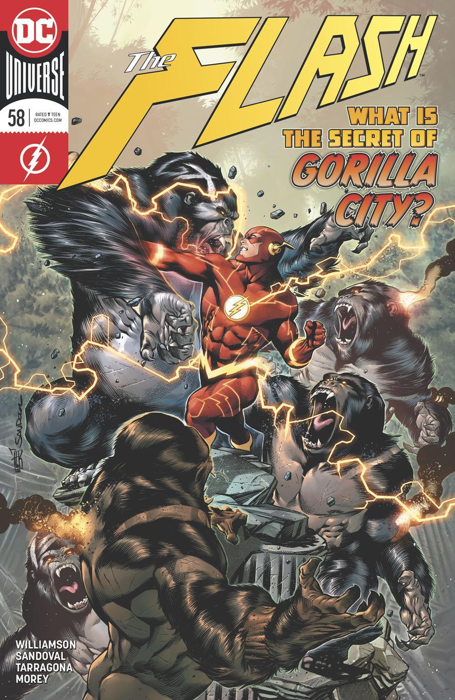Flash Vol 5 #58 Cover A Regular Rafa Sandoval & Jordi Tarragona Cover