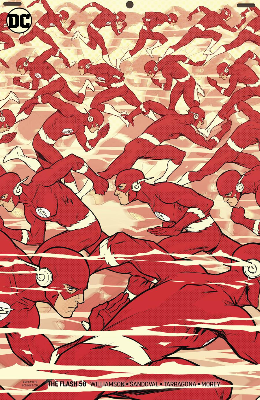 Flash Vol 5 #58 Cover B Variant Karl Kerschl Cover