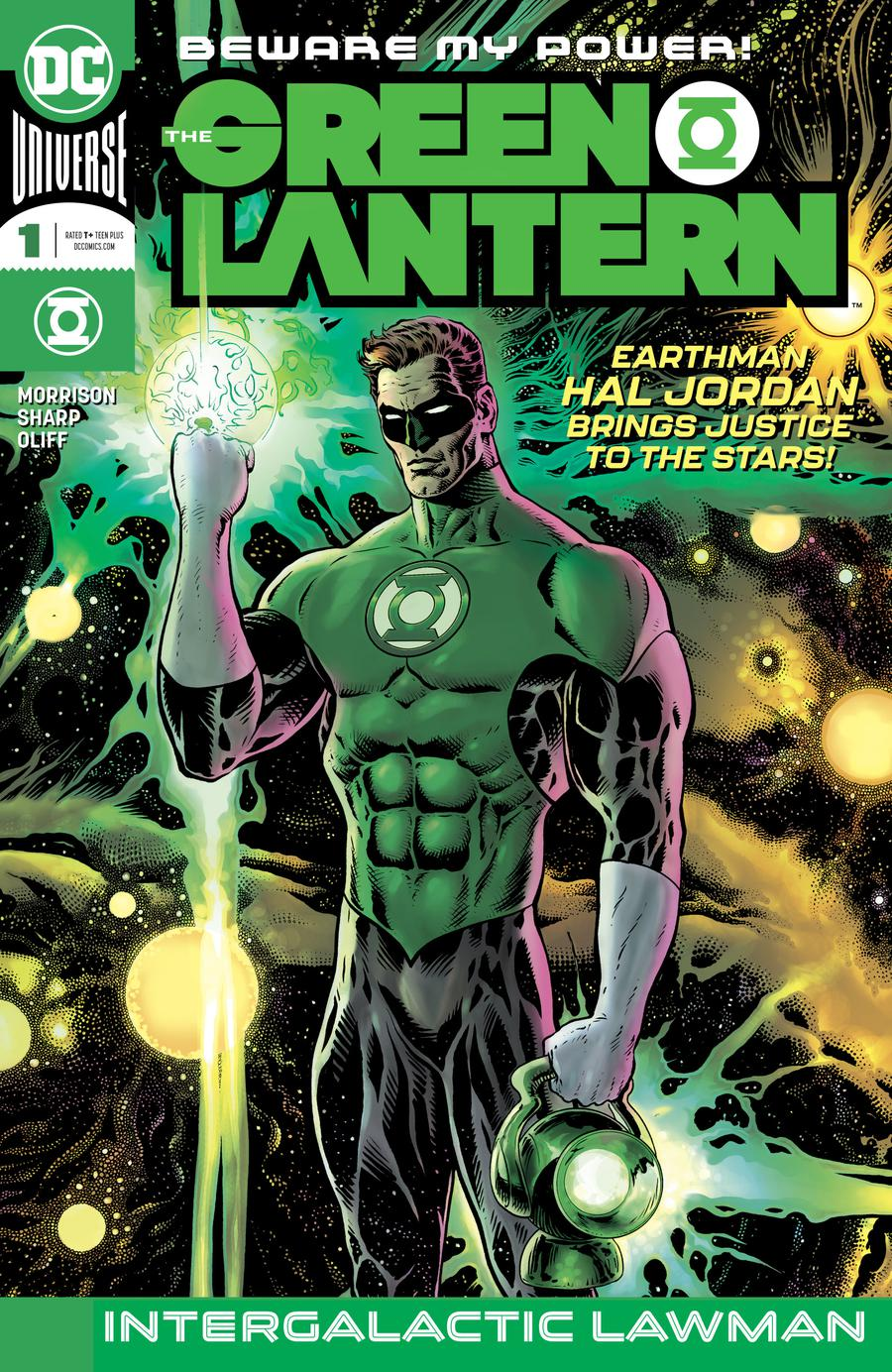 Green Lantern Vol 6 #1 Cover A 1st Ptg Regular Liam Sharp Cover