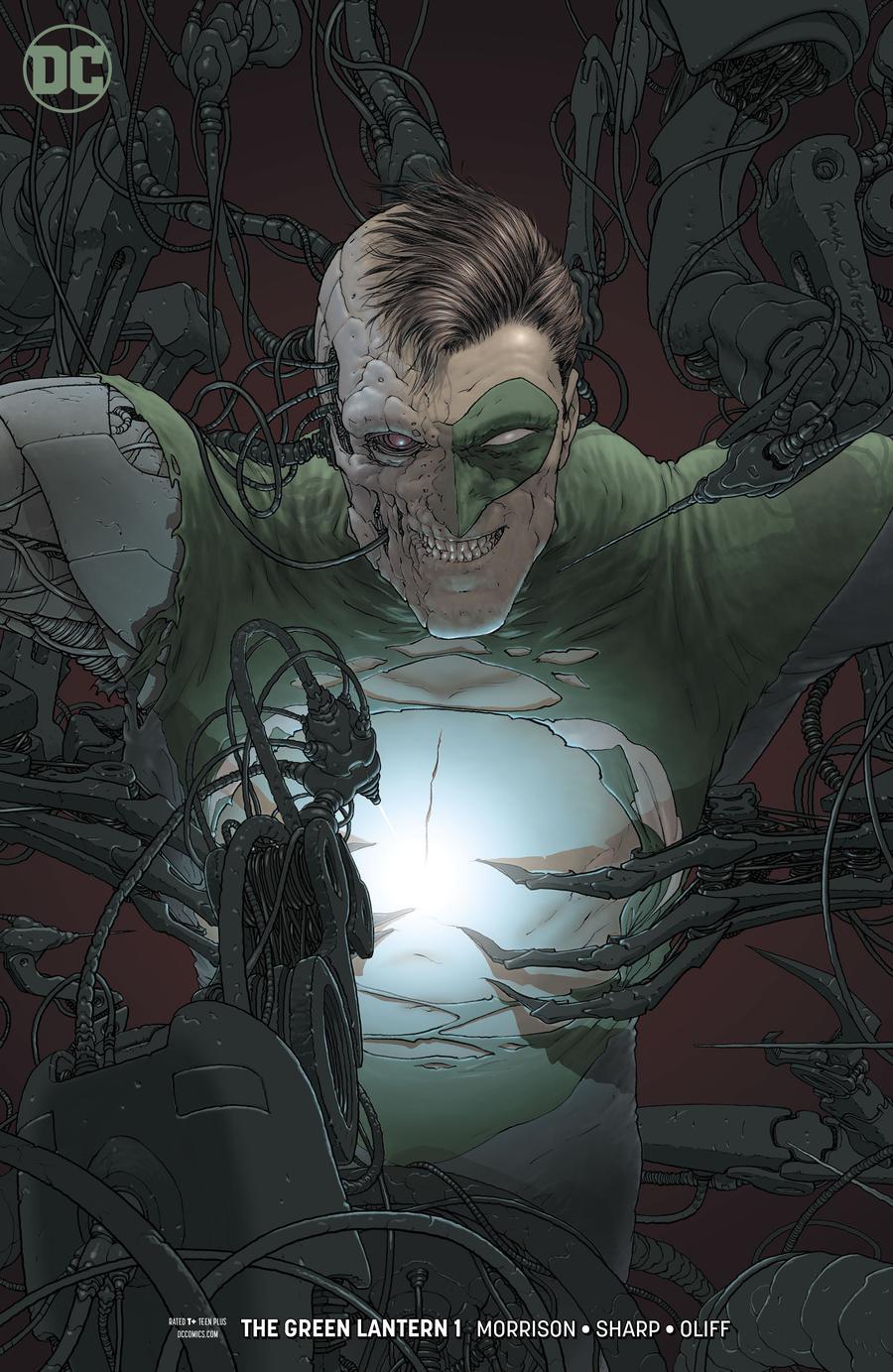 Green Lantern Vol 6 #1 Cover B Variant Frank Quitely Cover