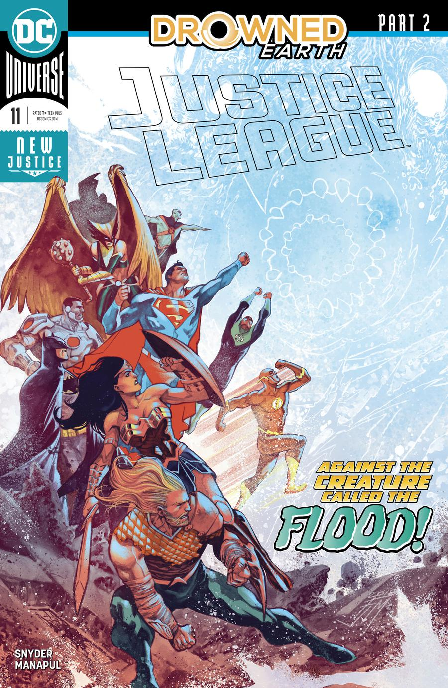 Justice League Vol 4 #11 Cover A Regular Francis Manapul Cover (Drowned Earth Part 2)