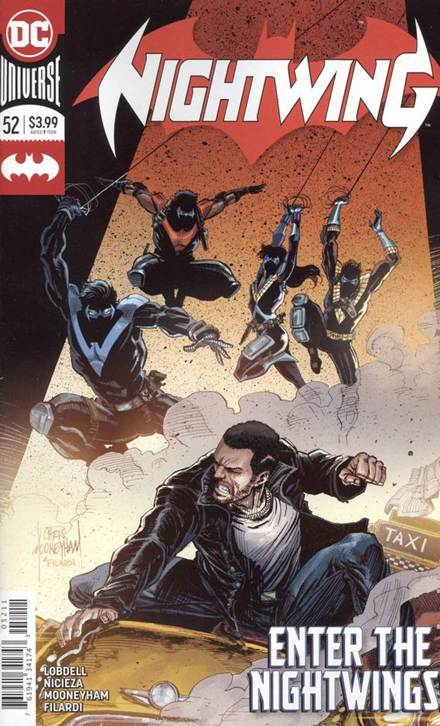 Nightwing Vol 4 #52 Cover A Regular Mike Perkins Cover