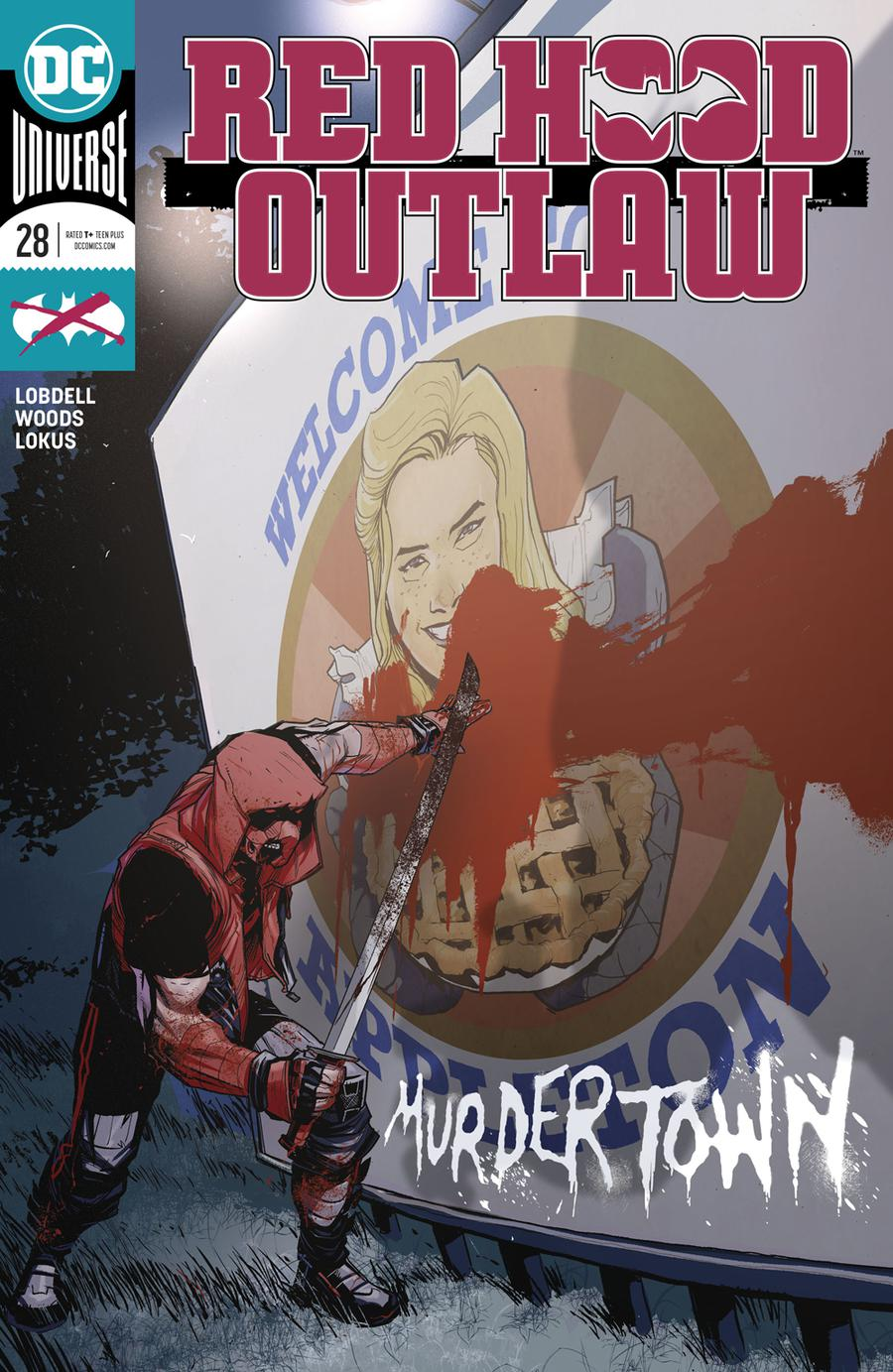 Red Hood Outlaw #28 Cover A Regular Pete Woods Cover