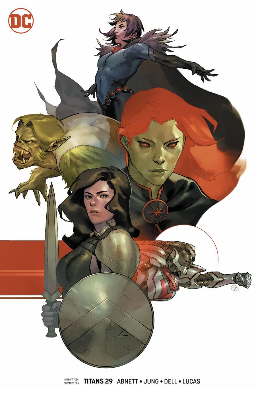Titans Vol 3 #29 Cover B Variant Yasmine Putri Cover
