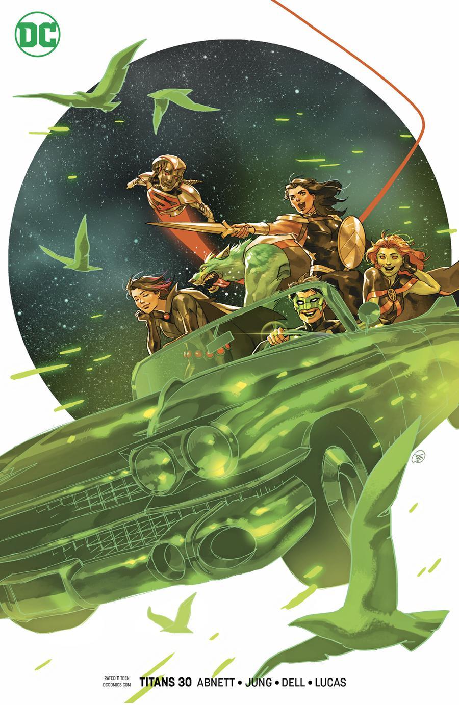 Titans Vol 3 #30 Cover B Variant Yasmine Putri Cover