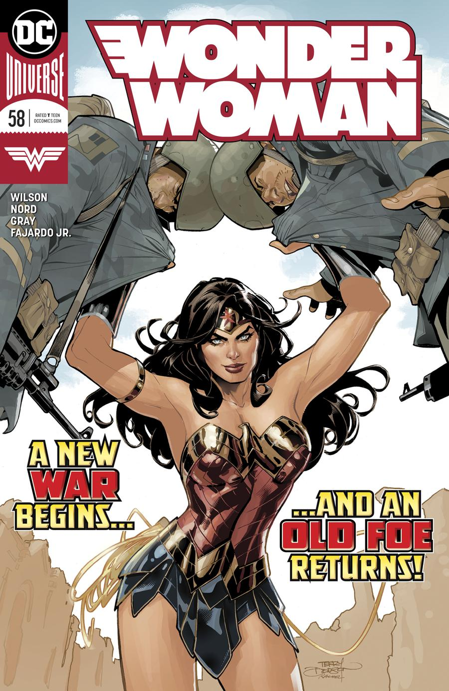 Wonder Woman Vol 5 #58 Cover A Regular Terry Dodson & Rachel Dodson Cover
